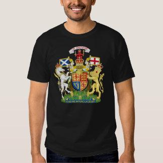 Camisetas del escudo de armas de Escocia Poleras