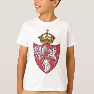 Camisetas del escudo de armas de la sublevación de