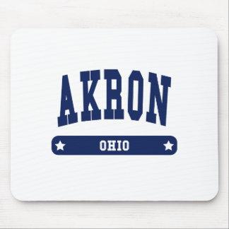 Camisetas del estilo de la universidad de Akron Oh Alfombrilla De Ratones