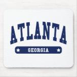 Camisetas del estilo de la universidad de Atlanta  Alfombrilla De Raton
