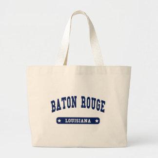 Camisetas del estilo de la universidad de Baton Ro Bolsa De Mano