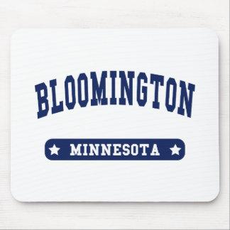Camisetas del estilo de la universidad de Blooming Tapete De Raton