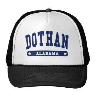 Camisetas del estilo de la universidad de Dothan A Gorras