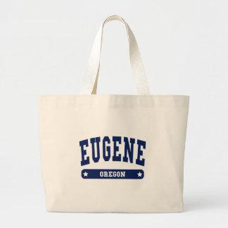 Camisetas del estilo de la universidad de Eugene O Bolsas De Mano