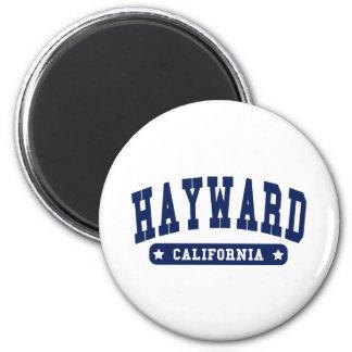 Camisetas del estilo de la universidad de Hayward  Imán De Frigorífico
