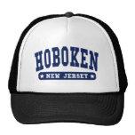 Camisetas del estilo de la universidad de Hoboken  Gorras