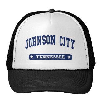 Camisetas del estilo de la universidad de Johnson  Gorro