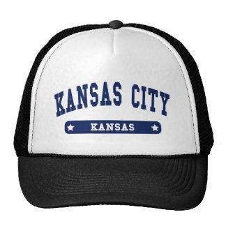 Camisetas del estilo de la universidad de Kansas C Gorro