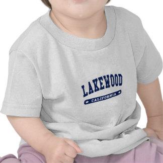 Camisetas del estilo de la universidad de Lakewood