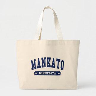 Camisetas del estilo de la universidad de Mankato  Bolsa