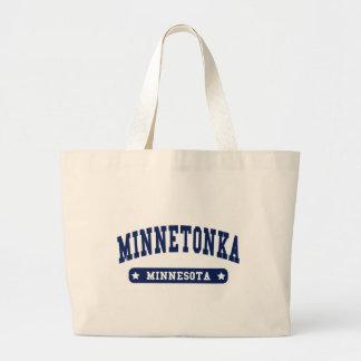 Camisetas del estilo de la universidad de Minneton Bolsa