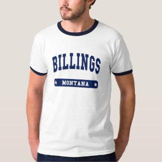 Camisetas del estilo de la universidad de Montana Poleras