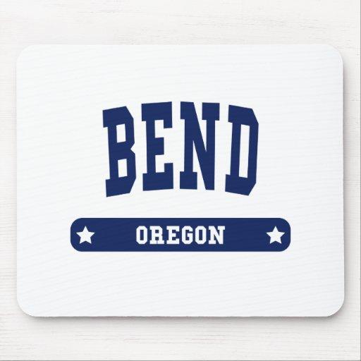 Camisetas del estilo de la universidad de Oregon d Tapete De Raton