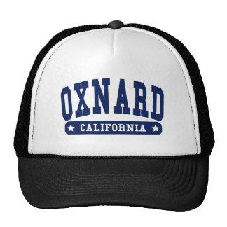 Camisetas del estilo de la universidad de Oxnard C Gorra