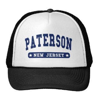 Camisetas del estilo de la universidad de Paterson Gorro De Camionero