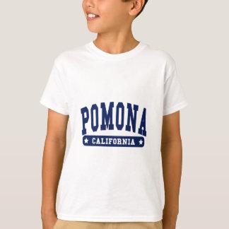 Camisetas del estilo de la universidad de Pomona