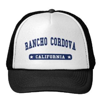 Camisetas del estilo de la universidad de Rancho C Gorro De Camionero
