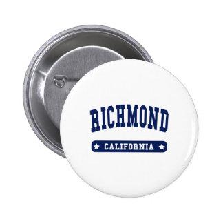 Camisetas del estilo de la universidad de Richmond Pin