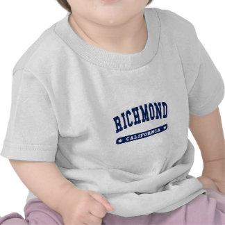 Camisetas del estilo de la universidad de Richmond