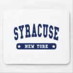 Camisetas del estilo de la universidad de Syracuse Tapete De Ratón