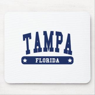 Camisetas del estilo de la universidad de Tampa la Tapetes De Raton