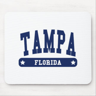 Camisetas del estilo de la universidad de Tampa la Alfombrilla De Ratones