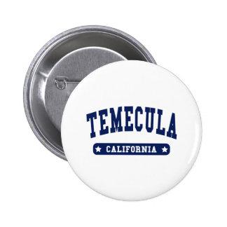 Camisetas del estilo de la universidad de Temecula Pin