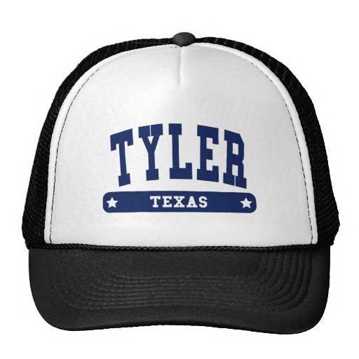 Camisetas del estilo de la universidad de Tyler Te Gorros