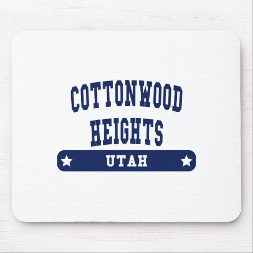 Camisetas del estilo de la universidad de Utah Alfombrilla De Ratón