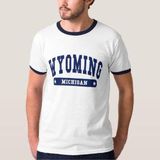 Camisetas del estilo de la universidad de Wyoming Playeras