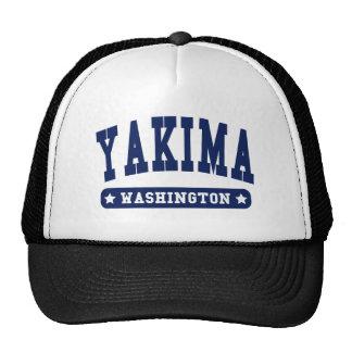 Camisetas del estilo de la universidad de Yakima W Gorro De Camionero