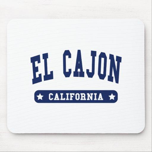 Camisetas del estilo de la universidad del EL Cajo Alfombrillas De Raton