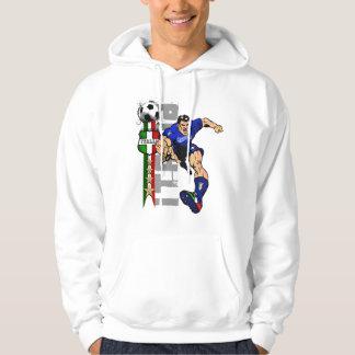 Camisetas del fútbol de Italia y regalos de Calcio Sudadera Encapuchada