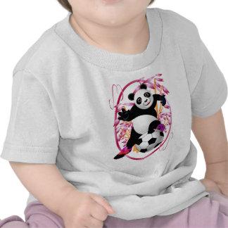 Camisetas del fútbol de la panda