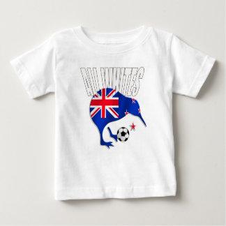 Camisetas del fútbol de Nueva Zelanda Poleras