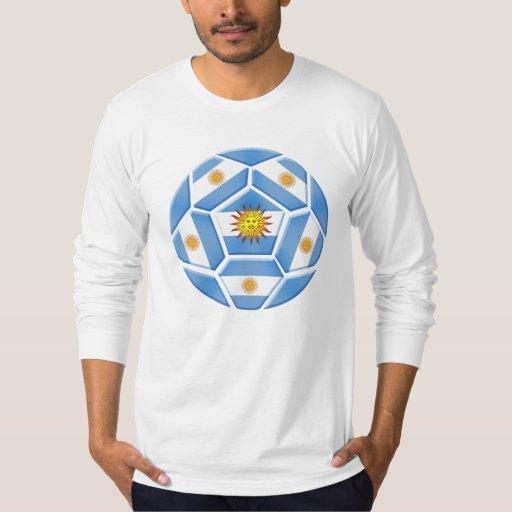 Camisetas del futebol de Argentina y engranaje del Remera