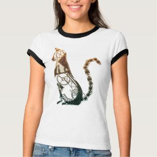 Camisetas del gato de Steampunk Playeras