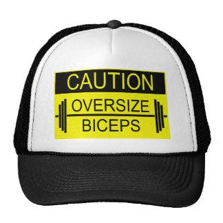 Camisetas del gimnasio - precaución gorras
