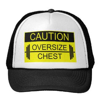 Camisetas del gimnasio - precaución gorro