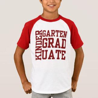 Camisetas del GRADUADO de la guardería de la