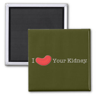 Camisetas del humor de la diálisis, regalos imán cuadrado
