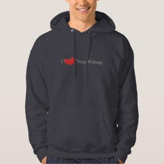 Camisetas del humor de la diálisis, regalos suéter con capucha