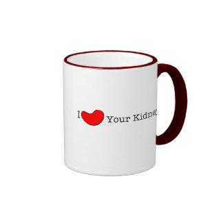 Camisetas del humor de la diálisis, regalos taza de dos colores