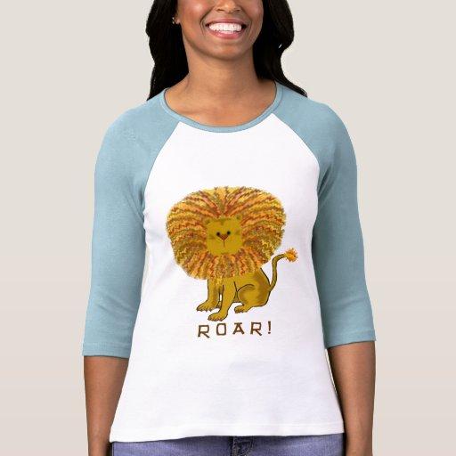Camisetas del león playeras