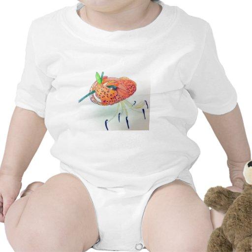 Camisetas del lirio tigrado