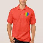 Camisetas del mismo sexo del amor de los hombres d polo