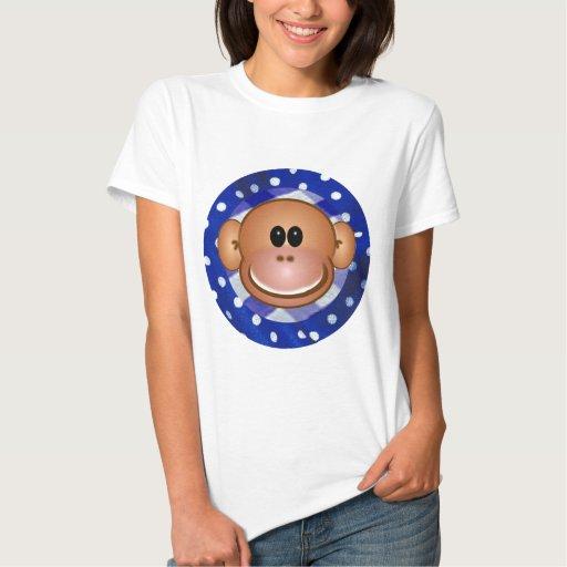 Camisetas del mono camisas