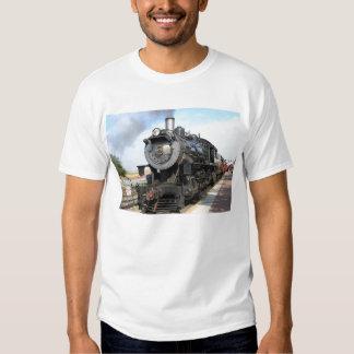 Camisetas del motor de vapor de Strasburg Playeras