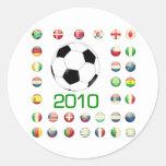 Camisetas del mundial Suráfrica 2010 Etiqueta Redonda