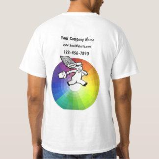 Camisetas del negocio del pintor poleras